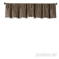 Beautyrest Yvon Blackout 48 Curtain Valance BTY1131