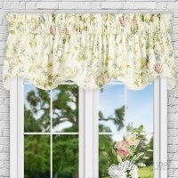 Ellis Curtain Kyra Hydrangea Lined 70 Curtain Valance EQK1705