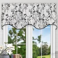Ellis Curtain Prairie Floral 50 Curtain Valance EQK1710
