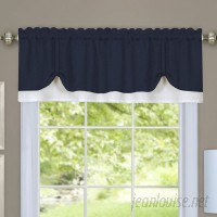 Longshore Tides Vannessa Traditional Elegance Double Layered Pick Up 58 Window Valance LNTS2073