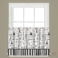 Ophelia Co. Zain Cafe Curtain OPCO1746