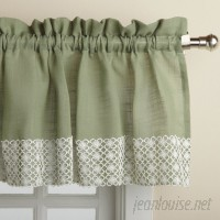 Sweet Home Collection Salem Kitchen 60 Curtain Valance SWET1400