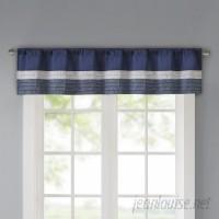 Three Posts Berardi Pintuck 50 Window Valance TRPT5041