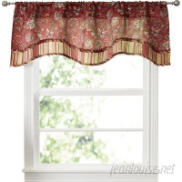 Traditions by Waverly Navarra Floral 52 Curtain Valance TADI1020