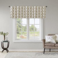 Wrought Studio Rolph Embroidery Taffeta 50 Light-filtering Curtain Valance VKGL4639