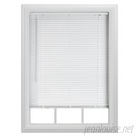 baliblinds Semi-Sheer White Horizontal/Venetian Blind SWFA1091