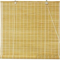 Bay Isle Home Matchstick Roll-Up Shade BAYI8460