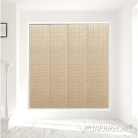 Bloomsbury Market Deluxe Adjustable Sliding Room Darkening Chai Vertical Blind GODE1062