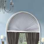 Charlton Home Light Blocking Fabric Arch Shade CHRL3844