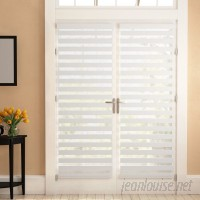 Winston Porter Dual Layered Sheer Horizontal/Venetian Blind WNPR4514