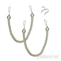 baliblinds Rope Curtain Tieback Hardware Set SWFA1082