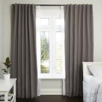 Umbra Twilight Room Darkening Curtain Double Rod UMB3391