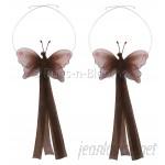 Bugs-n-Blooms Butterfly Curtain Tieback BNBS1016