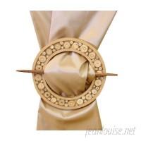 EuropaTex Broch Circular Broch Curtain Tieback ETEX1001
