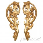 Hickory Manor House Open Leaf Curtain Tieback HIMH1772
