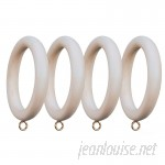 Menagerie Compatible Smooth Drapery Curtain Ring XCE1123
