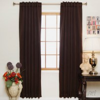 Andover Mills Cherrywood Solid Blackout Thermal Rod Pocket Curtain Panels ANDV4422