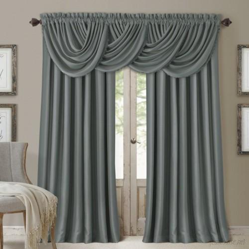 Astoria Grand Ardmore Solid Blackout Rod Pocket Single Curtain Panel ATGD5369