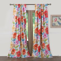 August Grove Sevan Nature/Floral Sheer Rod Pocket Curtain Panel AGGR2569
