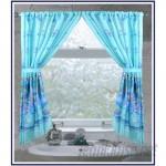 Ben and Jonah Oceanic Nautical Rod Pocket Curtain Panels BANJ1292