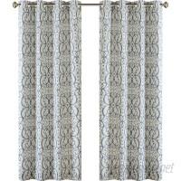Birch Lane™ Manda Damask Max Blackout Grommet Single Curtain Panel BL16569