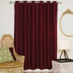 Blackout Curtain Solid Blackout Thermal Grommet Single Curtain Panel BLCU1001