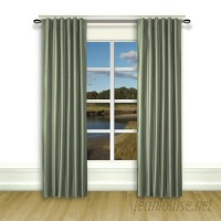 Darby Home Co Budde Solid Room Darkening Thermal Tab Top Curtain Panels DBHC5695