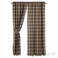 Loon Peak Castlekeep Plaid and Check Blackout Rod Pocket Curtain Panels LOON8700