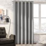 Mercury Row Solid Blackout Thermal Grommet Single Curtain Panel MCRW1732