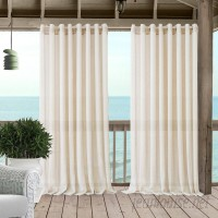 Rosecliff Heights Easter Compton Solid Sheer Grommet Single Curtain Panel EHFA1284