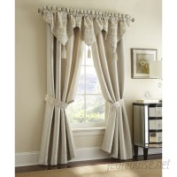 Waterford Bedding Olivette Room Darkening Rod Pocket Curtain Panel XBPW1105