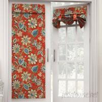 Waverly Brighton Blossom Nature/Floral Room Darkening Tab Top Single Curtain Panel WVY2154