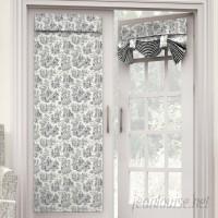Waverly Charmed Life Toile Semi-Sheer Tab Top Single Curtain Panel WVY2153