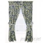 Waverly Imperial Dress Nature/Floral Room Darkening Rod Pocket Single Curtain Panel WVY2139