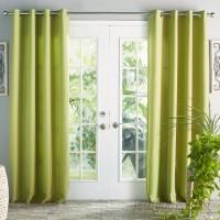 Beachcrest Home Ponce De Leon Solid Room Darkening Grommet Single Curtain Panel BCHH3329