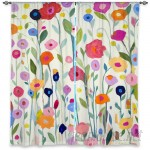 DiaNocheDesigns Nature/Floral Room Darkening Panels DNOC2345