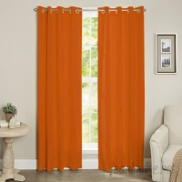 Ebern Designs Diannah Insulated Solid Blackout Thermal Grommet Window Curtain Panel EBND5832