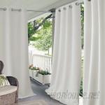 Elrene Home Fashions Connor Solid Room Darkening Grommet Single Curtain Panel EHFA1163