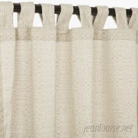 Gracie Oaks Mccafferty Outdoor Single Curtain Panel GRCS5622