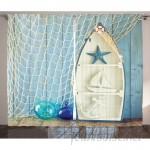 Highland Dunes Carterton Boat Room Darkening Rod Pocket Curtain Panels HLDS3018