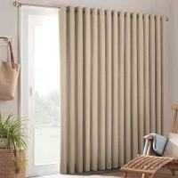 Parasol Key Largo Solid Semi Sheer Grommet Single Curtain Panel ARAS1004