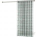 Zipcode Design Annamaria Geometric Semi-Sheer Outdoor Grommet Single Curtain Panel ZPCD4187