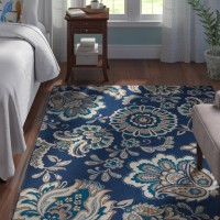 Andover Mills Tremont Blue Area Rug ANDO1585