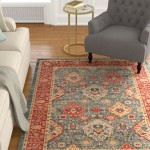 Darby Home Co Alto Red/Blue Area Rug DBHC1937