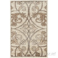 Lark Manor Mathieu Dark Beige/Brown Area Rug LARK6954