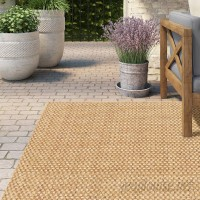 Lark Manor Orris Sand Indoor/Outdoor Area Rug LRKM1235