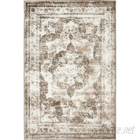 Mistana Brandt Light Brown Area Rug MTNA1016