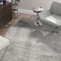 Wade Logan Jonathan Colorway Silver Area Rug WADL5822