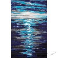 Wrought Studio Sidney Navy Blue Area Rug VKGL5845