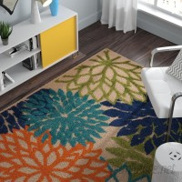 Zipcode Design Nathalie Cream Indoor/Outdoor Area Rug ZIPC8391
